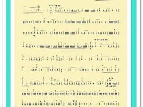 二胡曲谱《战马奔腾》(2页谱)