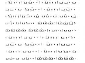 二胡曲谱二胡与拉丁
