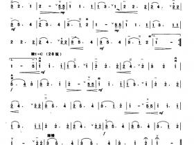 莫利·玛隆二胡曲谱