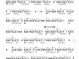 庄稼汉和牧人的歌二胡曲谱