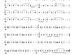 波兰圆舞曲二胡曲谱