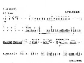 沼洋江二胡曲谱