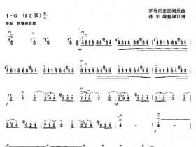 云雀二胡简谱(云雀二胡独奏曲谱)