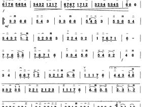 萨丽哈之歌二胡曲谱