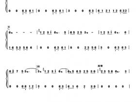 画情古筝曲谱