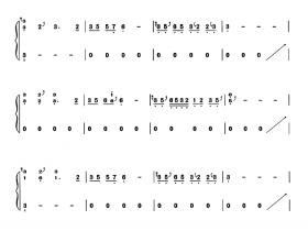 High歌古筝曲谱
