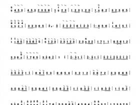 步步高古筝简谱(步步高独奏曲谱完整版)