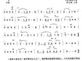百灵鸟二胡曲谱