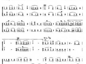 江南乐韵二胡演奏曲谱(二重奏)