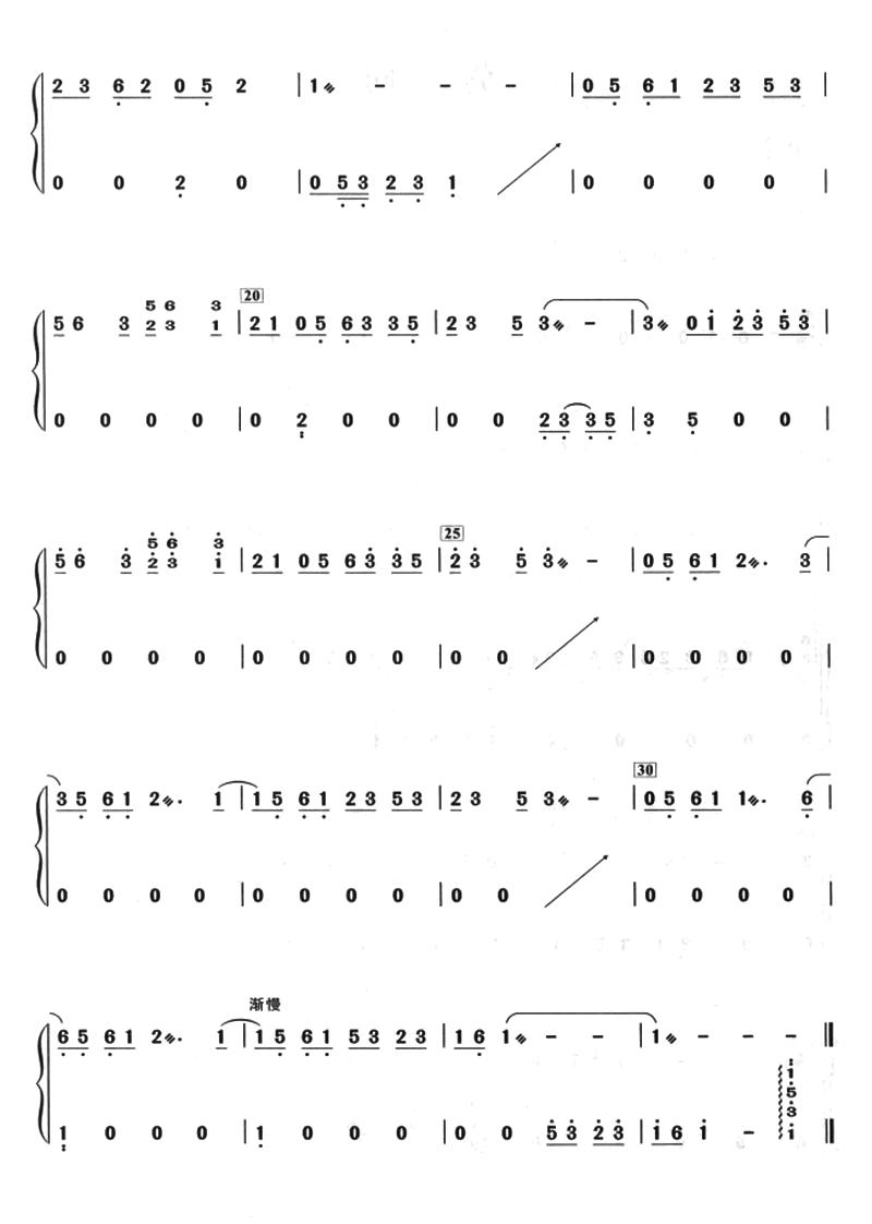 年轮古筝谱(年轮古筝曲谱下载)