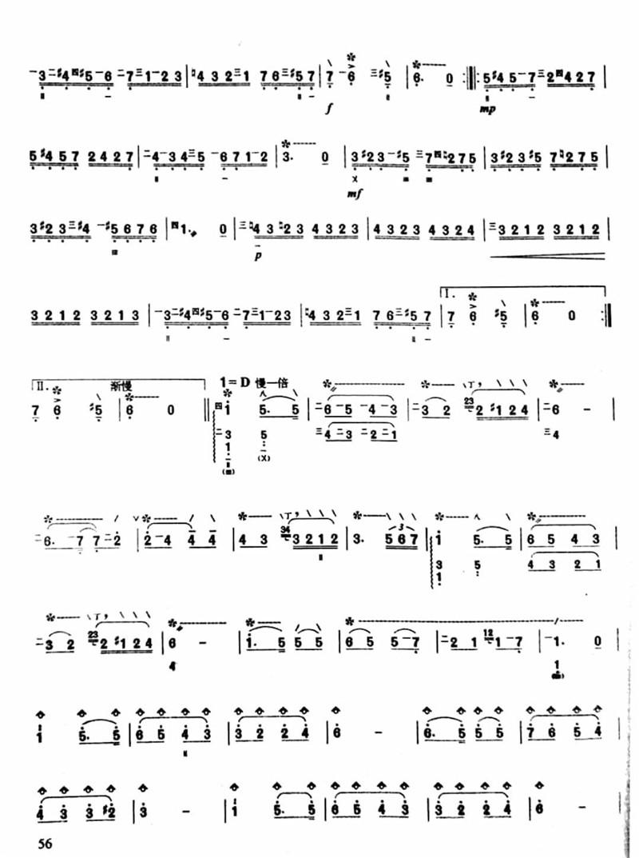 查尔达斯舞曲琵琶独奏曲谱